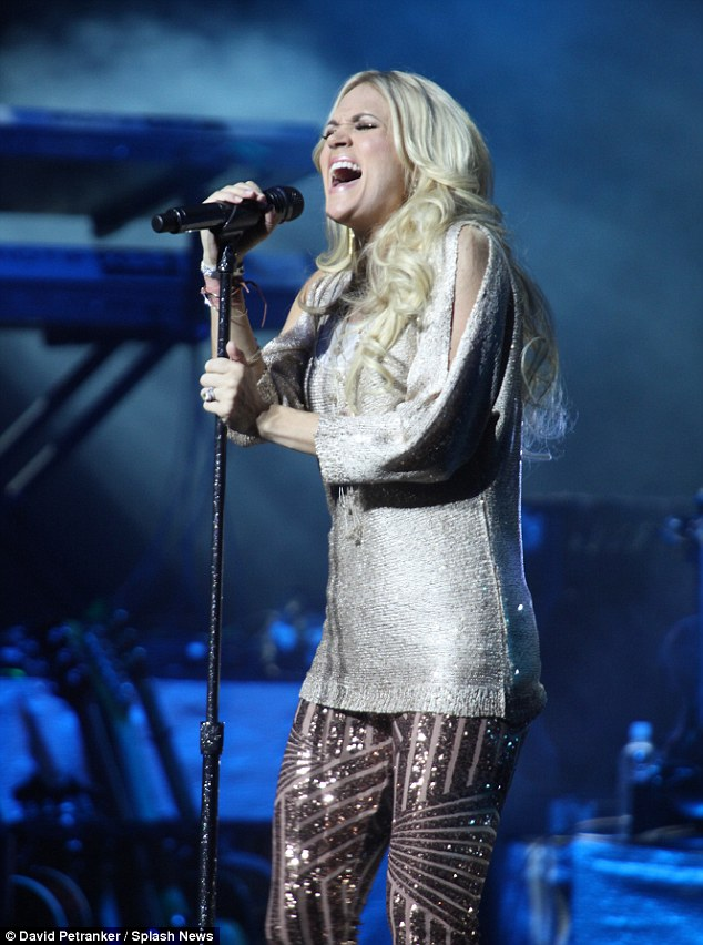 Worth the price of admission: The country singer is garnering praise from critics for her Blown Away tour