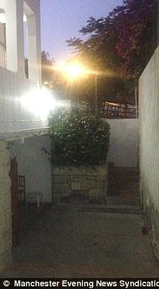 Mystery death: The Hacienda del Sol hotel in Playa de las Americas, Tenerife, where Mr Mairs was found injured