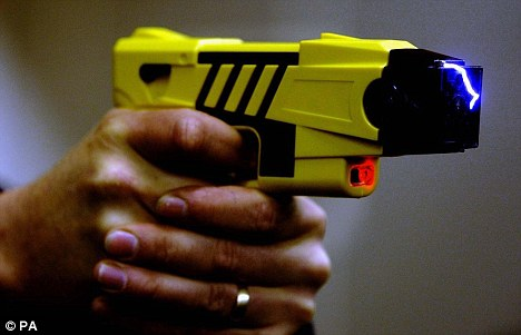 'Deadly': McGinnis's family said the Taser shock was to blame for his death