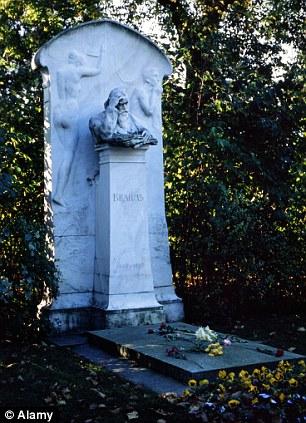 Grave of Johannes Brahms