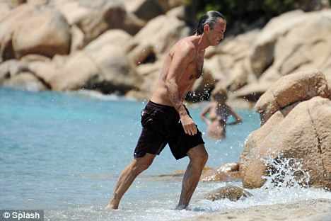 Taking a break: Roberto Mancini