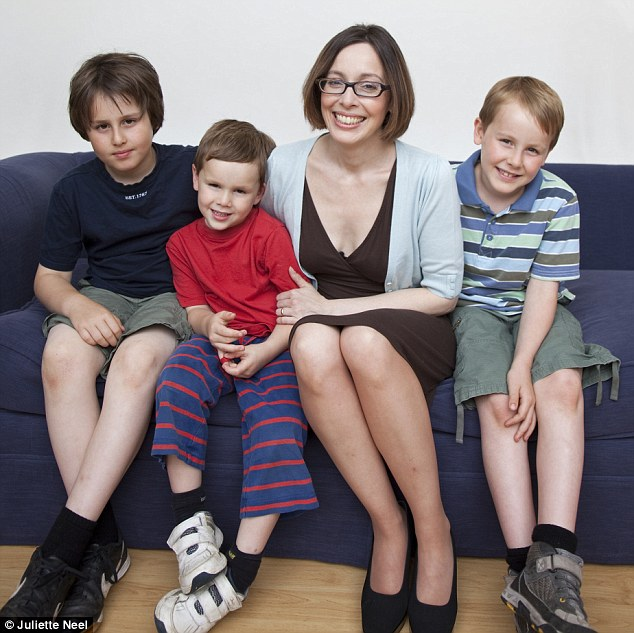Honesty is the best policy: Anna wants to be open with her sons about their weight