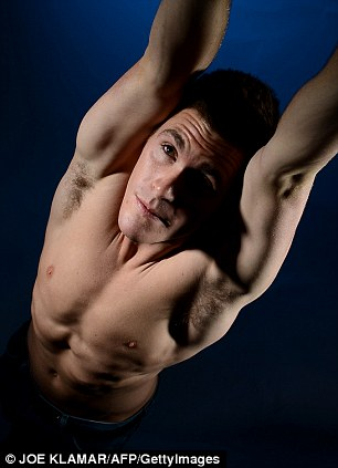 David Boudia of the US Diving Olympic team