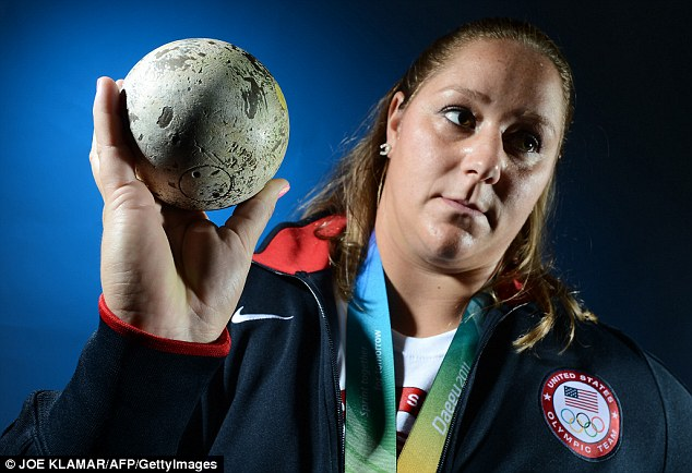 Gallery: This photograph of shot putter Jillian Camarena-Williams of the US Track and Field Olympic team has been criticized for lacking emotion or any kind of focus