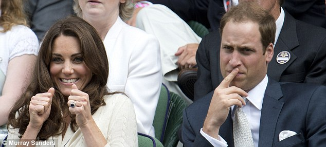 Two sides of a coin: A moment of introspection of William as Kate airs her excitement