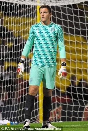 Jack Butland, England goalkeeper