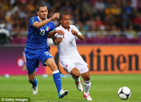 Emirates exit? Winger Theo Walcott (right) could be the next to leave