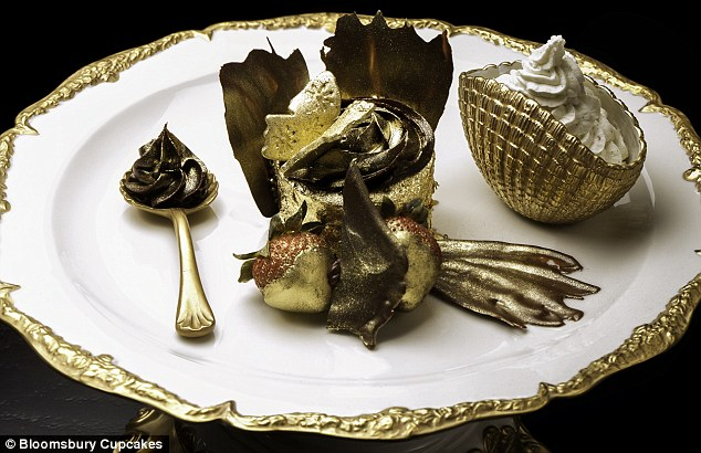 Pricey: The cupcake is for those with a sweeter tooth than their common sense