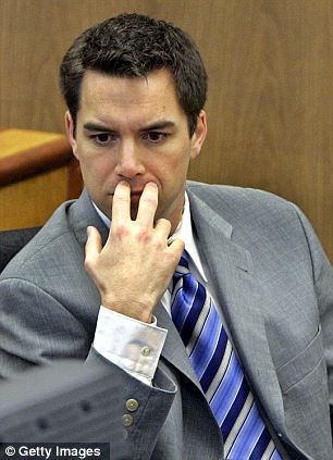 Highly publicised: Scott Peterson has always maintained his innocence and claims he did not get a fair trial