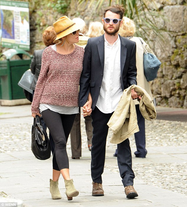 Babymoon: Sienna and fiancé Tom enjoyed a romantic Italian holiday in May as they prepared to become parents