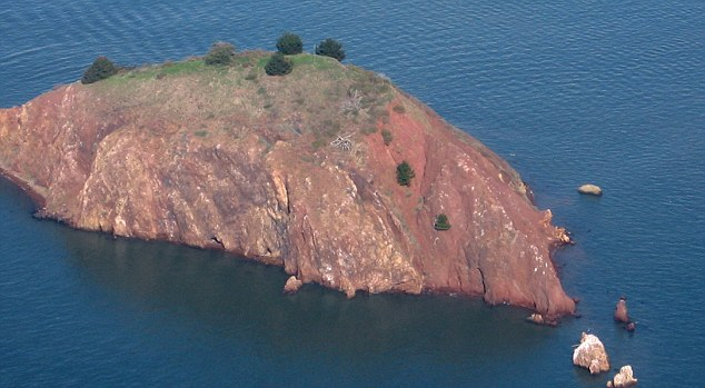 Bargain: Red Rock Island is on the marked for $5milllion after the owner slashed the asking price of $22million