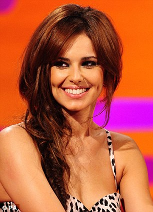 Fellow follicle favourites: Cheryl Cole