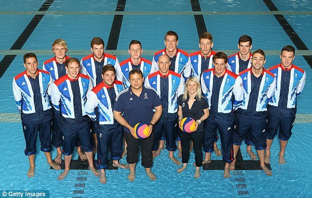 Water polo: The Great Britain mens team