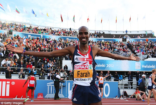 Chance: Mo Farah is gunning for gold