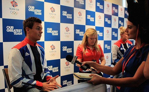 Diving: Tom Daley (left) is expected to challenge for gold