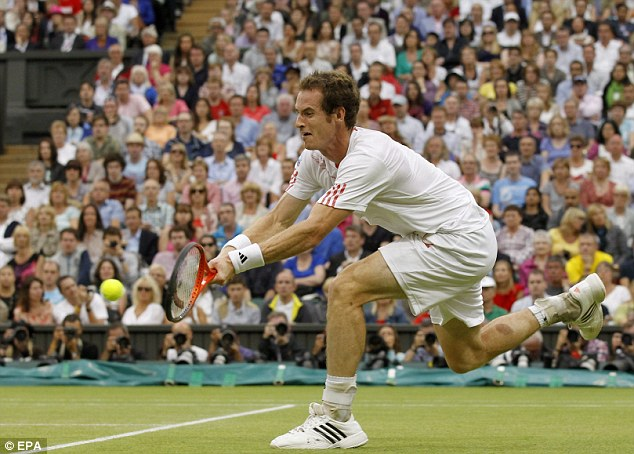 Back for more: Andy Murray will compete at the Games