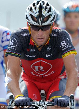 Denial: Armstrong, who retired in 2011, says he has passed more than 500 drug tests in his career and was never flagged for a positive test