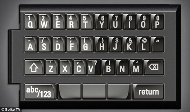 The keyboard up close: Those of you who do not enjoy the touchscreen typing experience may benefit from the feedback a keyboard provides
