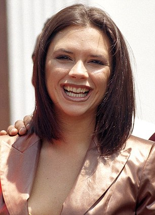 January 1997: On a trip to South Africa - check out her teeth before bleaching and cosmetic dentistry