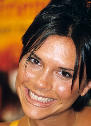 June 1998: Engaged to Becks and almost looking happy