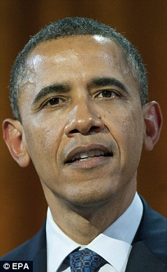 Backing: President Barack Obama endorsed gay marriage in May