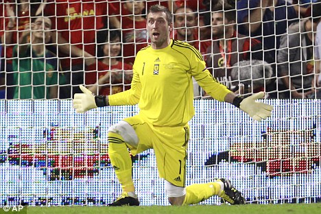 Heading out of Ibrox: Allan McGregor could be on his way to Turkey