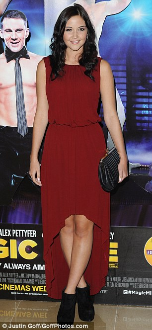 Short story: Brooke Vincent wore summer colours, while Jacqeline Jossa wore a red waterfall hemline dress