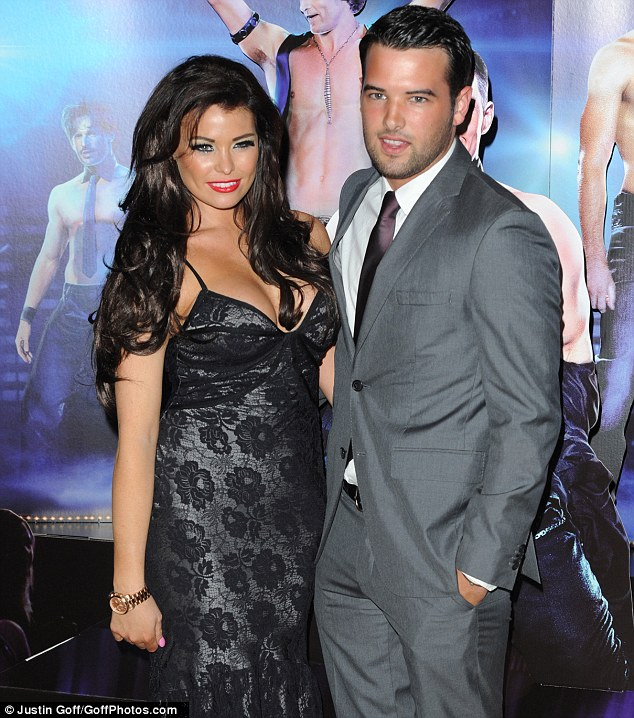 Arm candy: Jessica attended with boyfriend Ricky Rayment