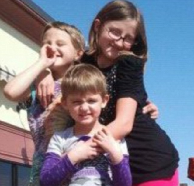 Tragedy: Autopsy results showed that the three girls died from 'sharp force injury' to the neck and the youngest child, Cecilia, had also been strangled