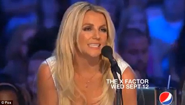 Saying it how it is: Britney Spears pulls no punches with a series of withering put downs in a new promo for X Factor USA