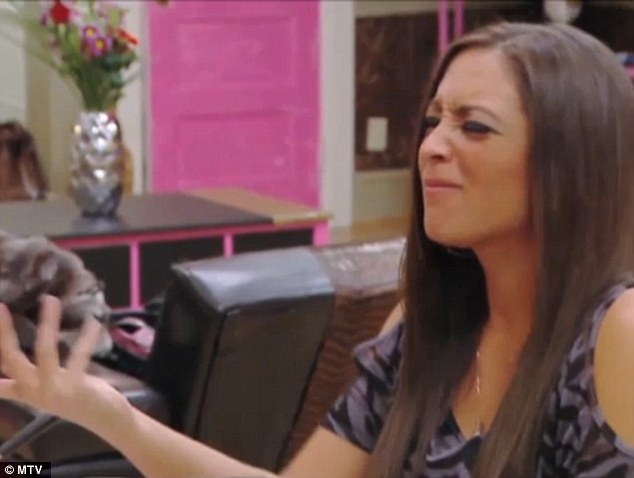 Confused: Sammi thinks Snooki is making the wrong decision