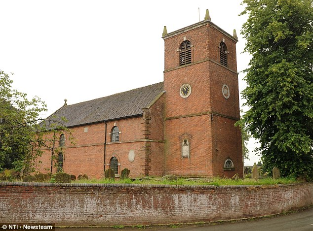 St Margaret's Church in Moreton Saye where the nest was found