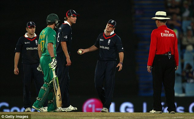 Controversy: The last time the teams played, Andrew Strauss refused the cramp-affected Smith a runner
