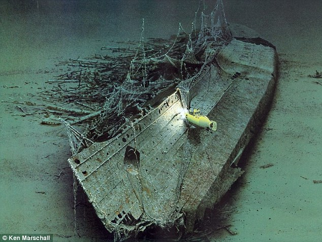 Mystery at the bottom of the ocean: The Lusitania, which sank of the Irish coast in 1915