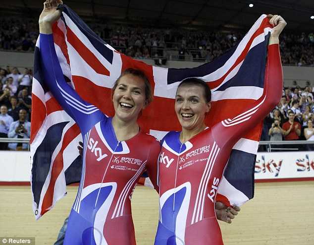 Close: Jess and Victoria have grown extremely close over their years spent training together