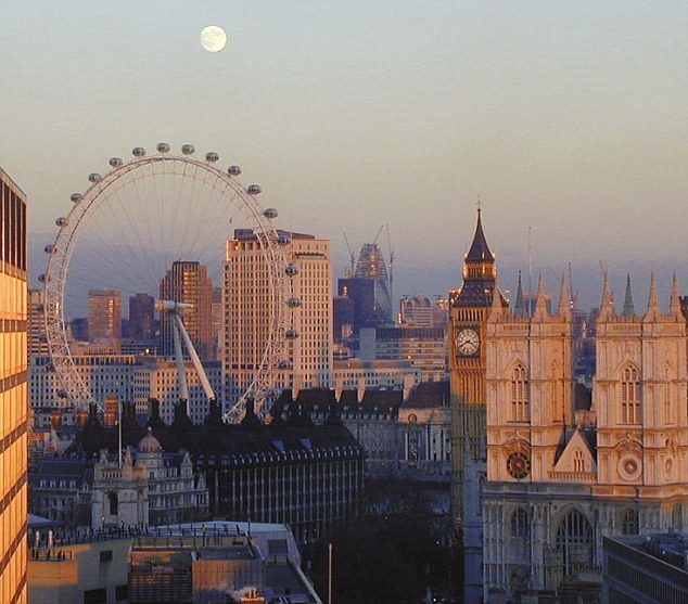 Strain: The largest increase in population was in London, which grew by 12 per cent, gaining more than 850,000 inhabitants