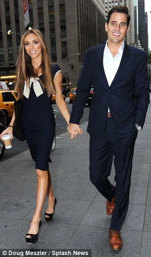 Celebrity fans: Bill (right) and Giuliana Rancic (left) employed Mr lee to plan their wedding in Capri, Italy in 2007