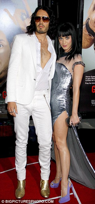 End of the road: Russell's divorce from Katy Perry was finalised today