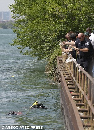 Found: The decapitated bodies of a man and a woman were pulled from the Detroit River
