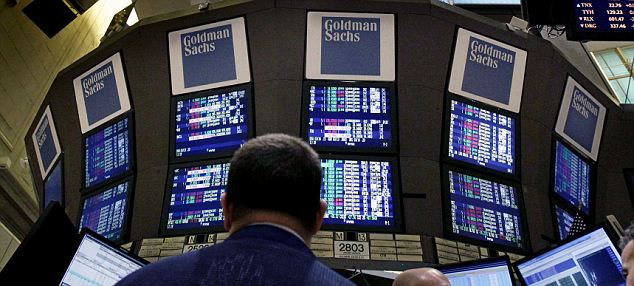 Earnings cheer: Goldman Sachs is among the U.S. corporate giants reporting better than expected results