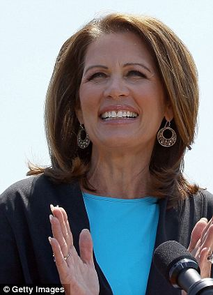 Calling her out: Though John McCain (right) never mentioned her explicitly, he gave a seven-minute speech slamming a letter that Michelle Bachmann (left) wrote deriding one of Hillary Clinton's top aides