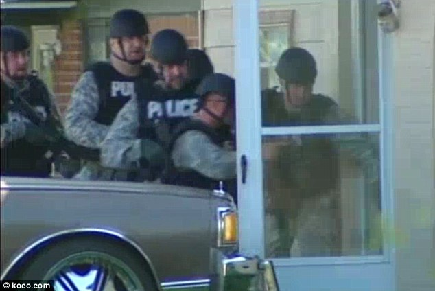 Swarm: After the three hostages escaped, a SWAT team went into the home and found the man dead