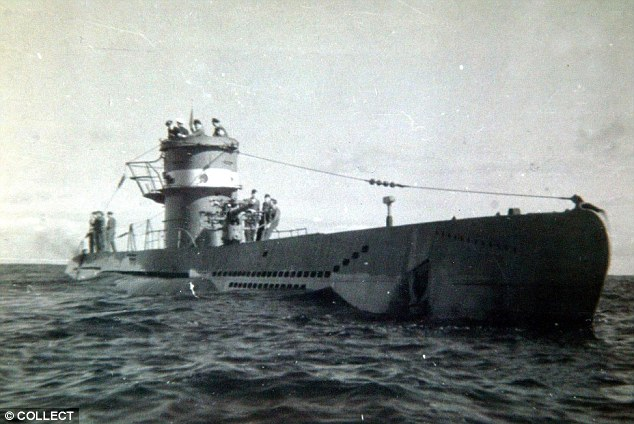 (file picture) Old and heavily laden ships like the Gairsoppa made easy targets for deadly German U-boats