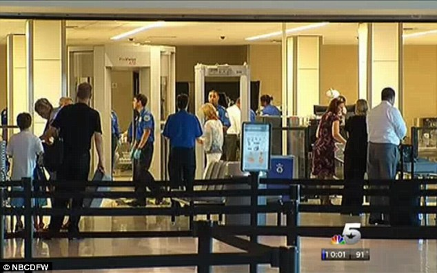 Dallas Love Field airport is where Melinda Deaton ran foul allegedly of the TSA