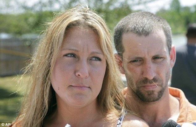 Estranged: Lyric's parents, Misty and Dan Morrissey, both have checkered criminal pasts - and were investigated as persons of interest in the disappearance of the girls