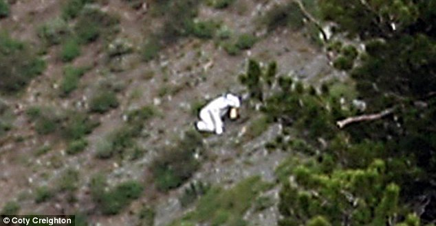 Mystery: No one knows who the person is or what they're up to on the side of the mountain, near Ben Lomond Peak