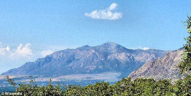 Mountain: The goat man was spotted near Ben Lomond Peak in Weber County, Utah