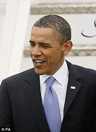 On the attack: Barrack Obama has accused Romney of tax dodging and profiteering from the destruction of companies