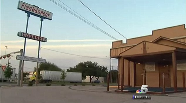 The club in question: Flashdancer strip club in Arlington, Texas was closed down by Mayor Cluck and Tom Brandt