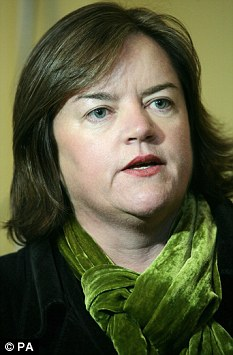 Outspoken: Families tsar Louise Carey has said that the government cannot afford to be too 'soft' on families